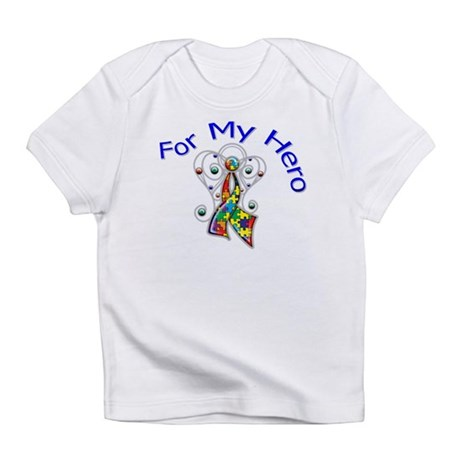 Autism For My Hero Infant T-Shirt