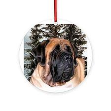 Mastiff 36 Ornament (Round)