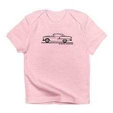 1955 Chevrolet Hardtop Coupe Infant T-Shirt