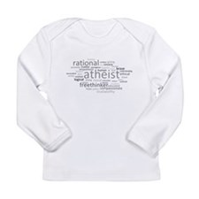 Atheism Cloud Long Sleeve Infant T-Shirt