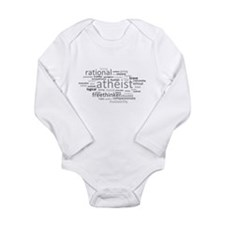 Atheism Cloud Baby Suit