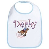My First Derby (girl) Bib