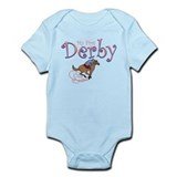 My First Derby (girl) Infant Bodysuit
