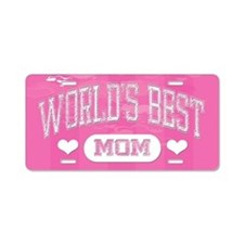 Best Mom Aluminum License Plate
