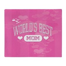 Best Mom Throw Blanket