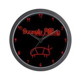 Unique Demonic Wall Clock