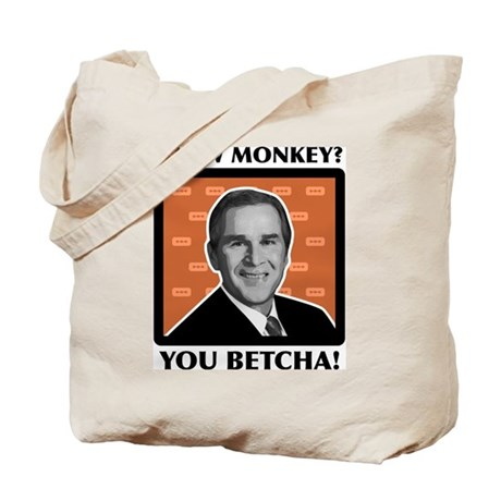 Blow Monkey? You Betcha! Tote Bag