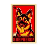 GERMAN SHEPHERD Propaganda Mini Poster