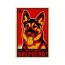 Obey the German Shepherd! Magnet