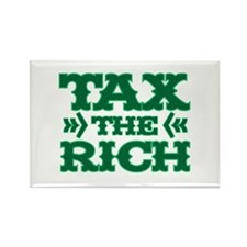 TAX THE RICH Rectangle Magnet (10 pack)