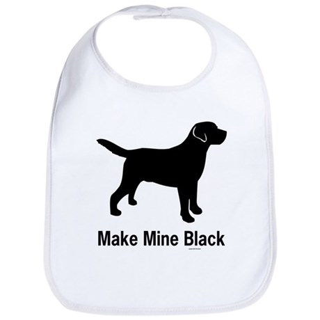 Make Mine Black Bib