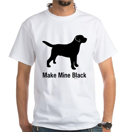 Make Mine Black White T-Shirt