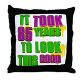It took 85 years to look this Throw Pillow