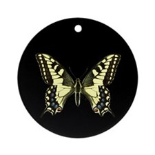Oregon's Swallowtail Butterfly Keepsake (Round)