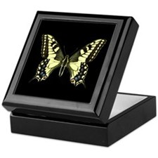 Oregon's Swallowtail Butterfly Keepsake Box