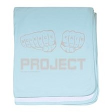 Cute Science fair baby blanket