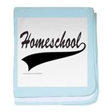 HOMESCHOOL baby blanket