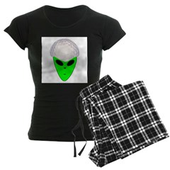 ALIEN GOLF HEAD Women's Dark Pajamas