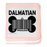 DALMATIAN PRICELESS baby blanket