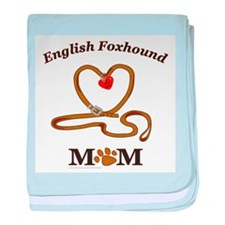 ENGLISH FOXHOUND baby blanket