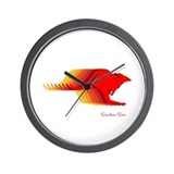 RAINBOW ROO Wall Clock