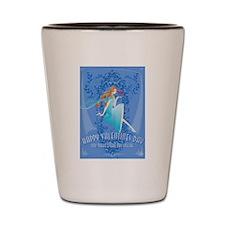 Blue Valentine Shot Glass