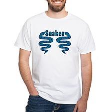 Snake White T-shirt
