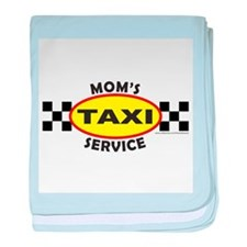 MOM'S TAXI SERVICE baby blanket