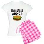 HAMBURGER ADDICT Women's Light Pajamas