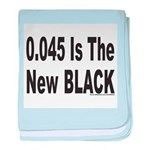 0.045 IS THE NEW BLACK baby blanket