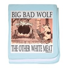 THE OTHER WHITE MEAT baby blanket