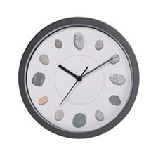 Pebble Wall Clock
