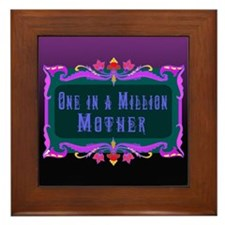 One in a Million Mother Framed Tile