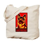 Obey the German Shepherd! Tote Bag