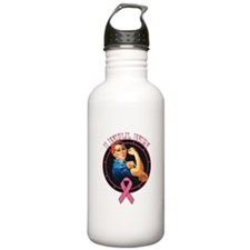 BreastCancer IWillWin Water Bottle