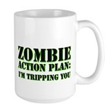 zombie action plan Coffee Mug