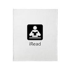 iRead Throw Blanket