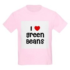 I * Green Beans Kids T-Shirt
