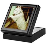 WAITING - West Highland White Keepsake Box