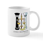 Justice / Priestess Mug