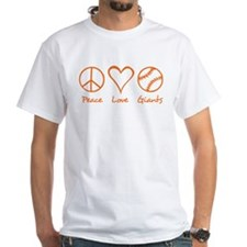 Peace, Love, Giants Shirt