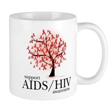 AIDS/HIV Tree Mug
