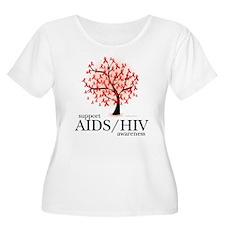 AIDS/HIV Tree T-Shirt