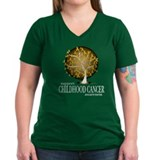 Childhood Cancer Tree Shirt