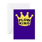 Plow King Greeting Card