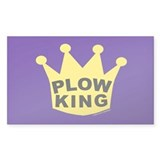 Plow King Decal