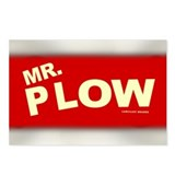 Mr Plow Postcards (Package of 8)
