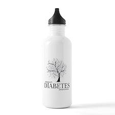 Diabetes Tree Water Bottle