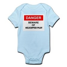 Helicopter Pilot Infant Creeper