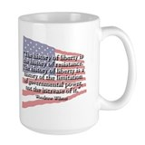 Woodrow Wilson: History of Liberty Mug